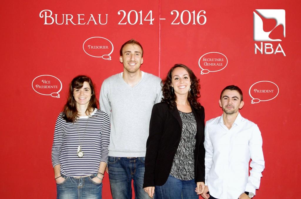Bureau 2014-2016 Bulles Plus Petites