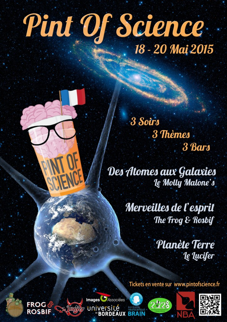 Pint Of Science 2015 - Flyer